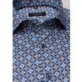 eterna overhemd met lange mouwen »comfort fit« blauw