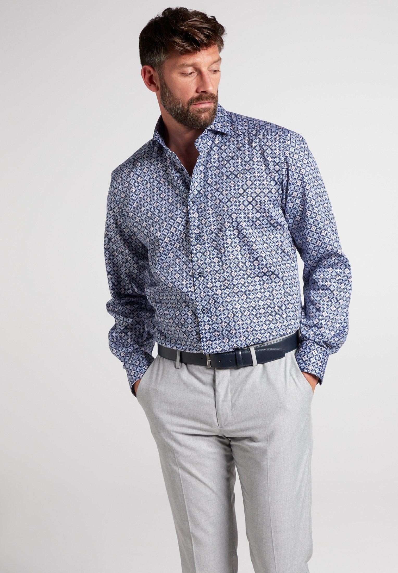 Eterna overhemd met lange mouwen »COMFORT FIT« nu online bestellen