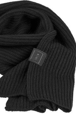 mstrds gebreide sjaal zwart