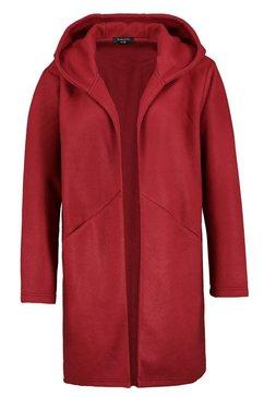 sublevel korte jas rood