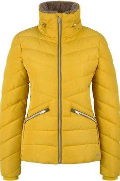 tom tailor gewatteerde jas geel
