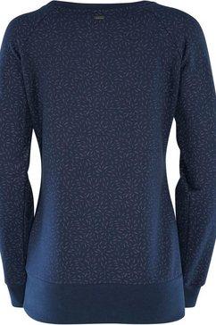 mazine sweater »moon« blauw