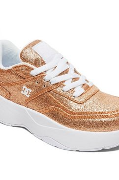 dc shoes sneakers »e.tribeka platform« geel