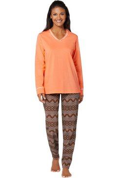 normann pyjama oranje