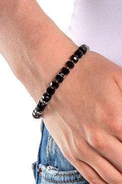 leonardo armband »donna clipmix, 018300« zwart