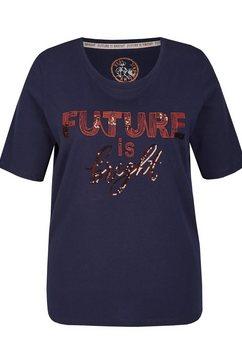 via appia due t-shirt blauw