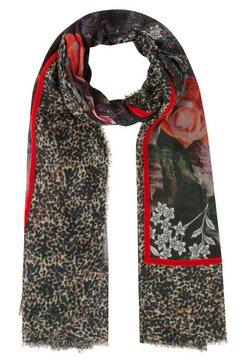 codello zijden sjaal rood