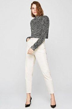 pepe jeans blouse zonder sluiting »maya« zilver