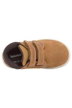 timberland klittenbandboots »toddle tracks hl boot« bruin