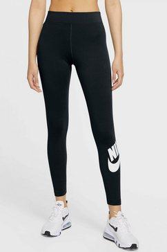 nike sportswear legging nike sportswear essential women's high-rise leggings zwart