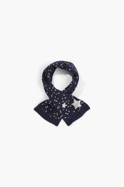 s.oliver gebreide sjaal blauw