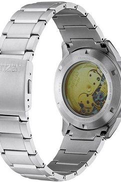 citizen automatisch horloge »nh9120-88l« zilver