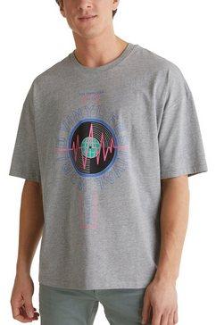 edc by esprit shirt met print grijs