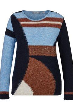 rabe gebreide trui blauw