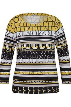rabe shirt met ronde hals geel