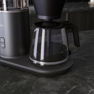 aeg »cm7-1-4mtm gourmet 7« filterkoffieapparaat zilver