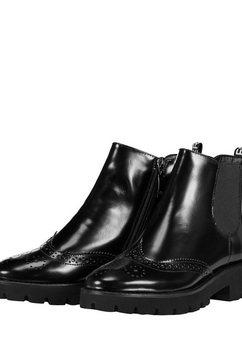 gerry weber laarsjes »chelsea-boots sena« zwart