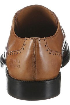 melvin  hamilton schoenen met perforatie »jeff 14« bruin