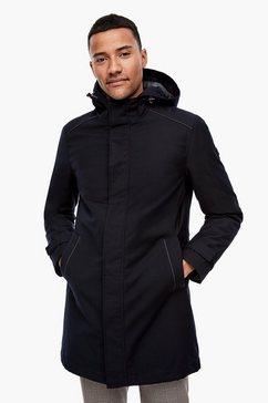 s.oliver black label gewatteerde jas blauw
