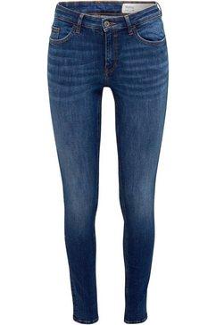edc by esprit skinny fit jeans blauw