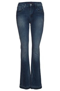 blue fire bootcut jeans »vicky« blauw