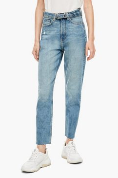 q-s designed by high-waist jeans blauw