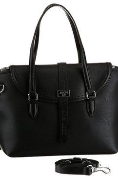 joop jeans tas »mezza luna rosalie handbag shf« zwart