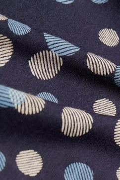 esprit shirt met lange mouwen blauw