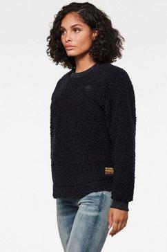 g-star raw sweatshirt »carley« blauw