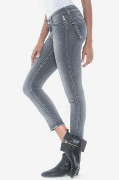 le temps des cerises skinny fit jeans »pulp« grijs