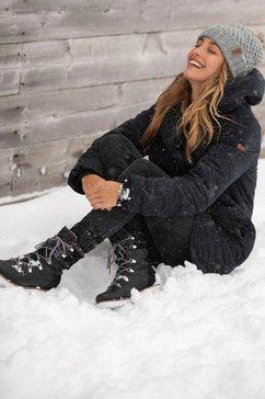 roxy winterlaarzen »brandi« zwart