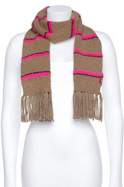 levi's gebreide sjaal bruin