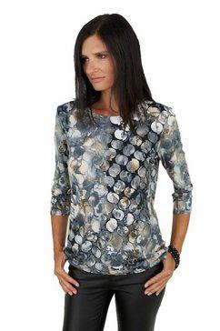 seidel moden shirt met 3-4-mouwen grijs