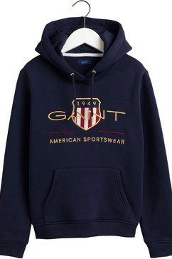 gant sweatshirt blauw