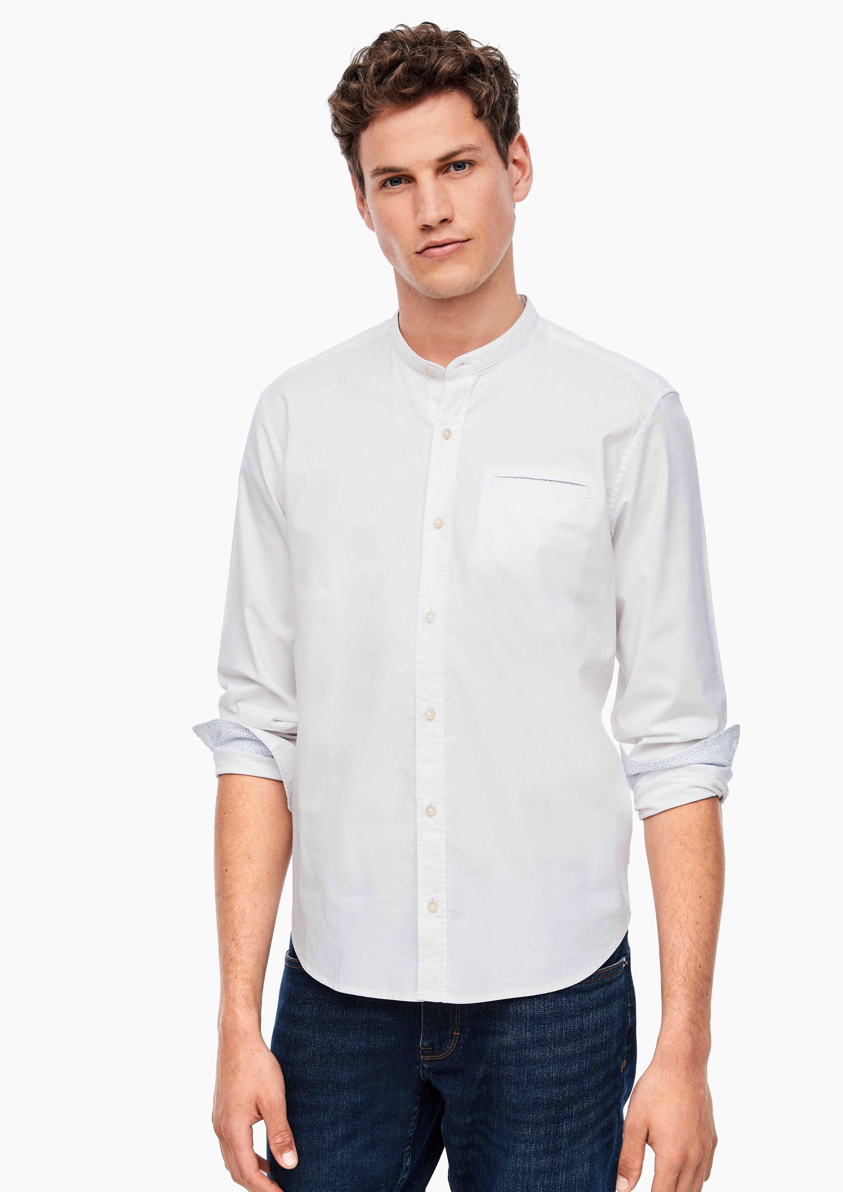 s.Oliver overhemd met lange mouwen - verschillende betaalmethodes