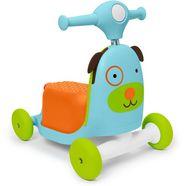 skip hop »3-in-1 roller hund« kindervoertuig lerenlopenhulp multicolor