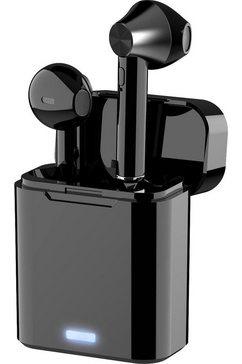 4smarts in-ear-hoofdtelefoon zwart
