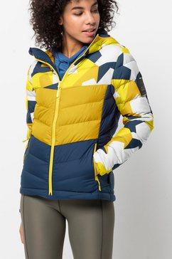 jack wolfskin donsjack »365 hideaway down jacket w« geel