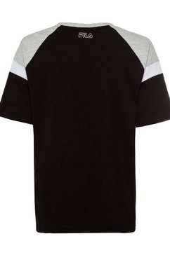 fila t-shirt »laeta« zwart