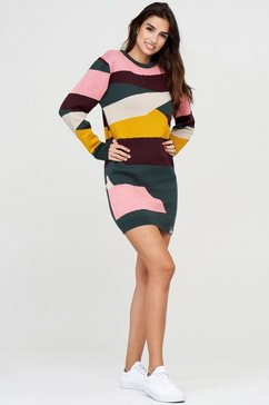 mazine tricotjurk »mina knit dress« groen