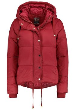 stitch  soul gewatteerde jas rood