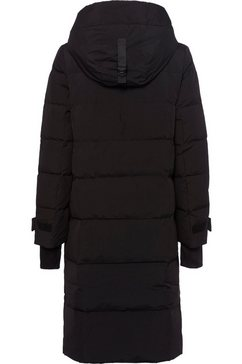 united colors of benetton doorgestikte jas zwart