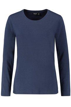 eight2nine shirt met lange mouwen blauw
