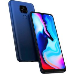 motorola smartphone blauw
