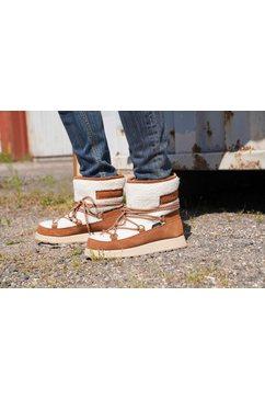 luhta boots zonder sluiting »nauttiva ms« bruin