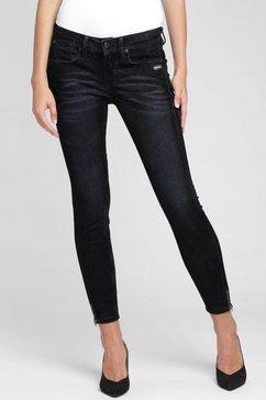 gang skinny fit jeans »faye« zwart