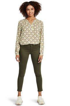 cartoon blouse met lange mouwen »mit muster« paars