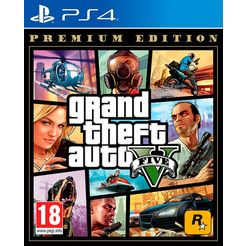 game ps4 grand theft auto 5 (gta v) - premium edition andere