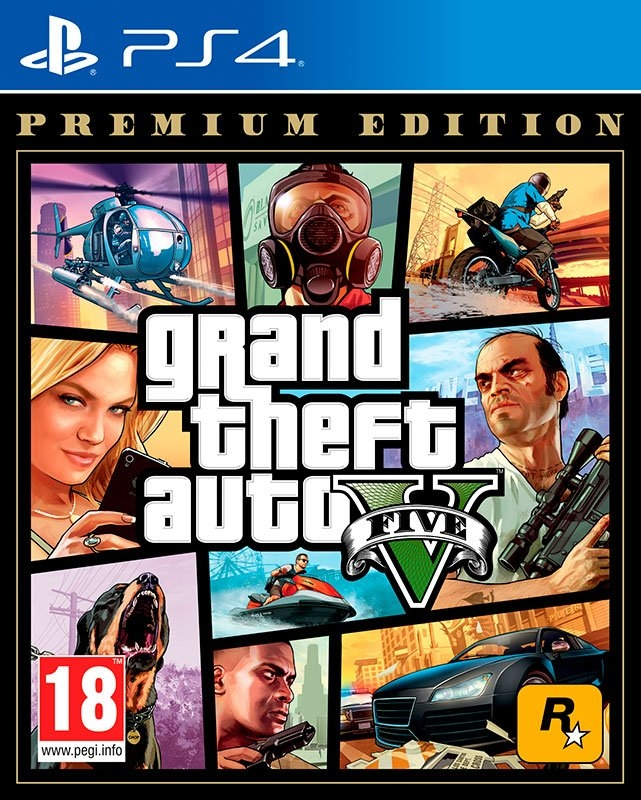 Playstation Game PS4 Grand Theft Auto 5 (GTA V) - Premium Edition - gratis ruilen op otto.nl