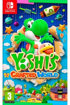 game nintendo switch yoshi's crafted world andere